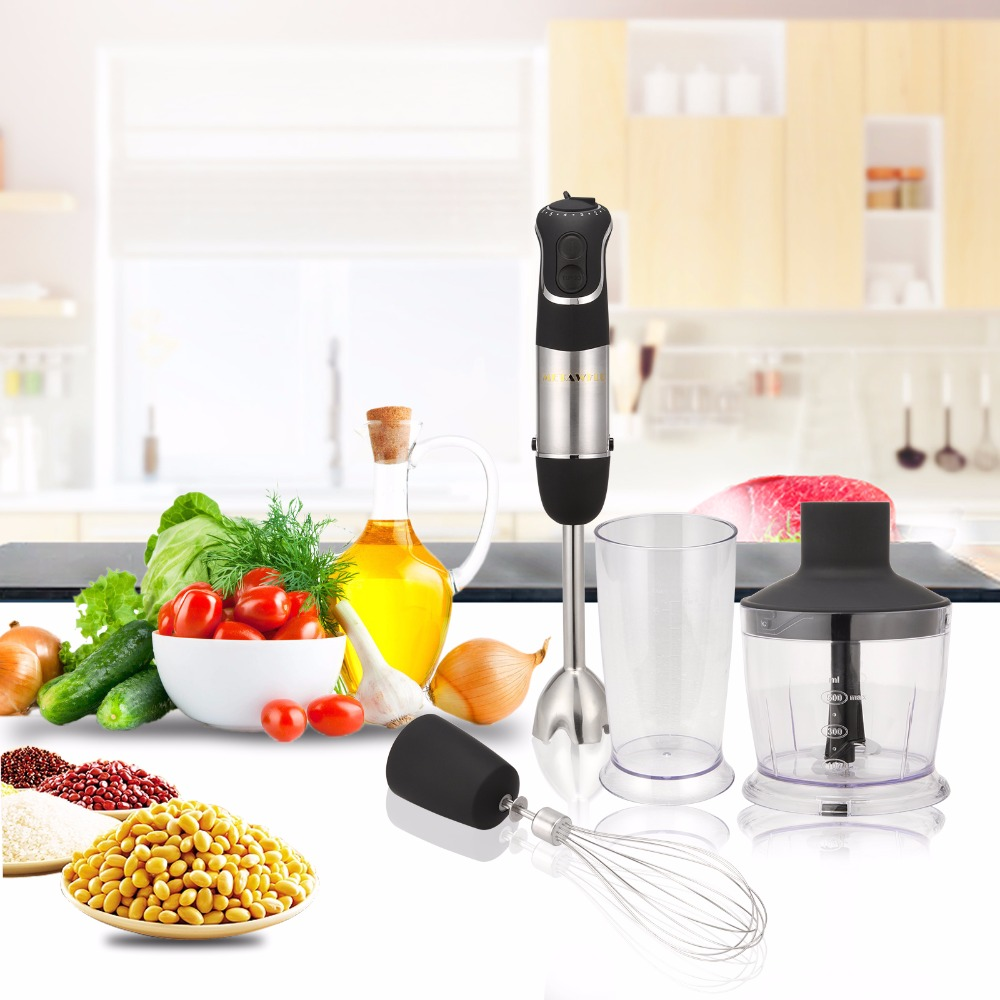 3-in-1 Multifunctional 850w Hand Blender Egg Whisk Mixer Juicer Meat Grinder Electric Stick Blender Household Appliance glantop 2l smoothie blender fruit juice mixer juicer high performance pro commercial glthsg2029