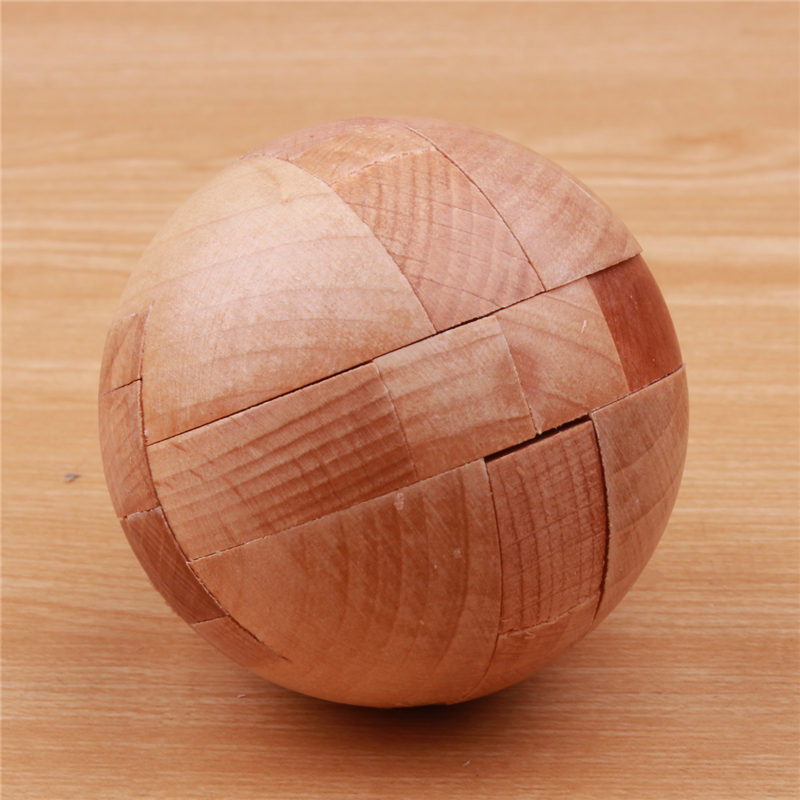3D Wooden Puzzle Luban Låser Puslespill Spill Leker For Barn Voksne - Puslespill - Bilde 2