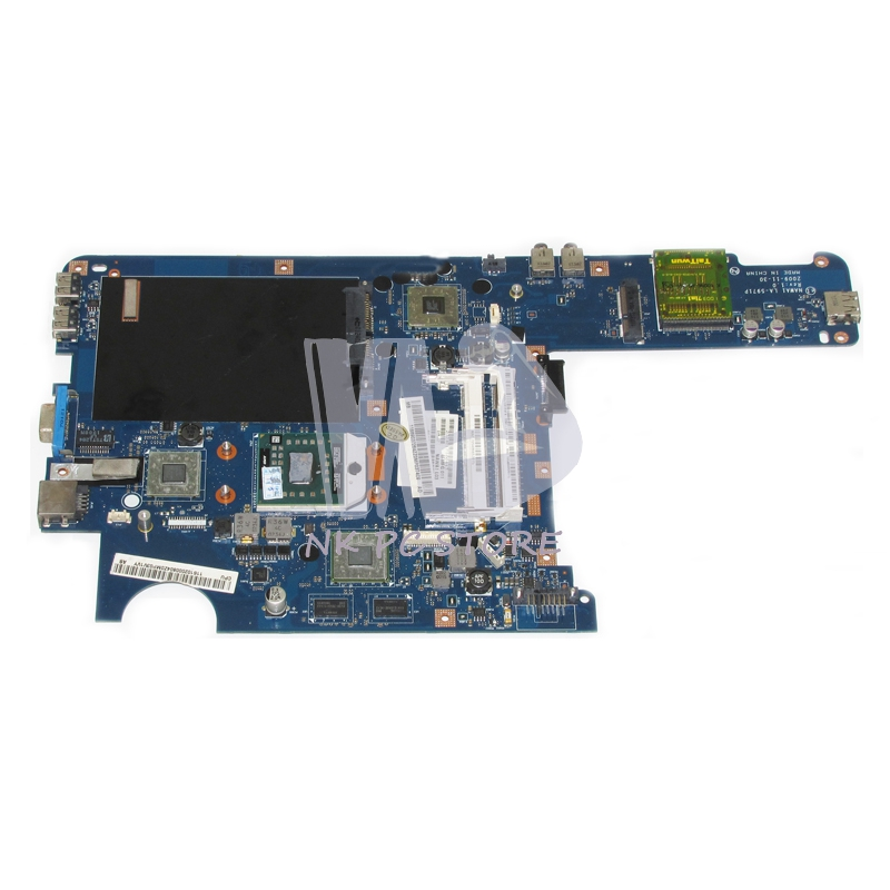 Notebook PC Motherboard For Lenovo G455 G455A Main Board NAWA1 LA-5971P Socket s1 Free CPU DDR2 Discrete Graphics la 5754p 11s69038329 main board for lenovo g565 z565 laptop motherboard ddr3 socket s1 with free cpu