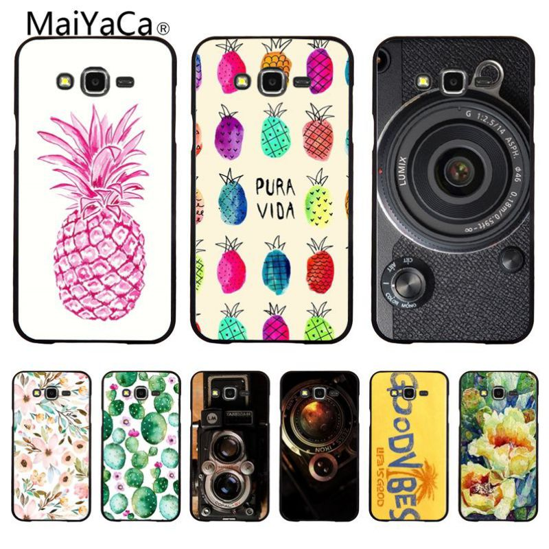 Industrious Maiyaca Fashion Camera Plant Flowers Novelty Fundas Phone Case Cover For Samsung S3 S4 S5 S6 S7 Phone Cover Suitable For Men And Women Of All Ages In All Seasons Phone Bags & Cases