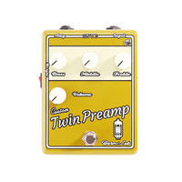Italy Baroni Lab Twin Pre Amp Tube Pre Amp Guitar Effect Pedal Stompbox True Bypass