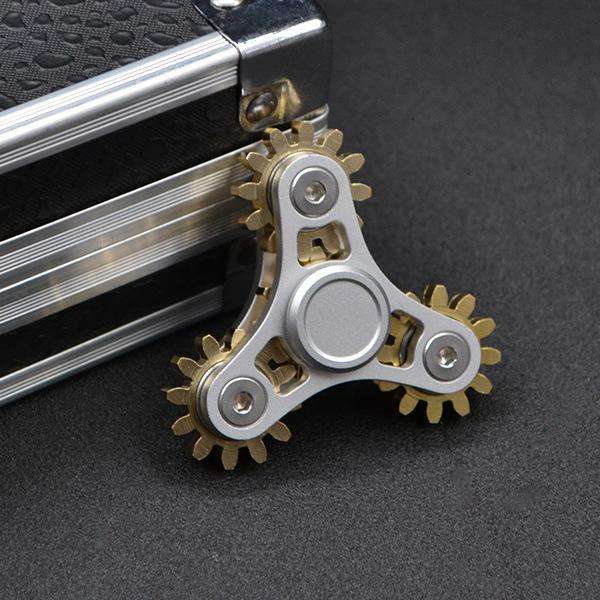 Gears Fidget Spinner Fingertip Finger Top Gyro Toys EDC ADHD Fidget Hand Spiner Spiral Desktop Anti Stress Finger Game
