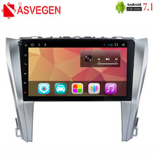 Asvegen авто радио для toyota camry 2016 2017 android 71 четырехъядерный