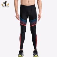 [AP] 2017 Yeni Sıkıştırma Spor Tayt Spor Adam Için Siyah Yoga Pantolon Kadınlar Spor Fitness Koşu Vücut Giysi