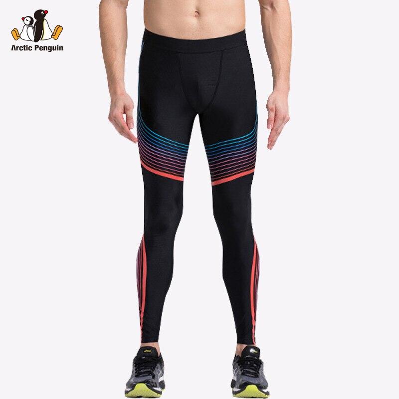 Prix pour [AP] 2017 Nouvelle Compression Sport Leggings Fitness Homme Noir De Yoga Pantalon Femmes de Sport Pour Fitness Course Bodybuilding Vêtements