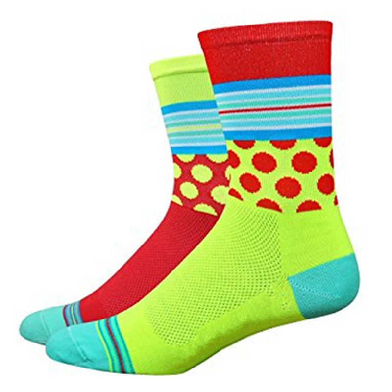2018 Women Sport Socks Bicycle Cycling Socks Running Outdoor Socks Compression Socks Calcetines Ciclismo