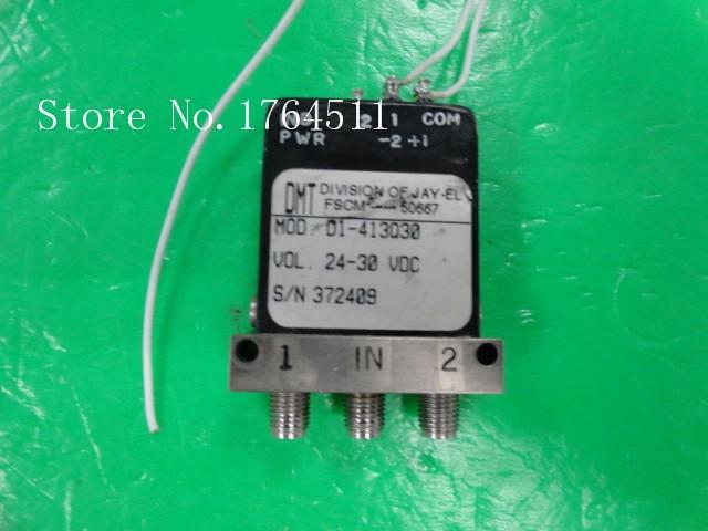 [SA] DMT D1-413Q30 DC-18GHZ 24-30V SMA RF switch [lan] gore okr01r71024 0 sma sma rf test line revolution angle 18ghz 60cm