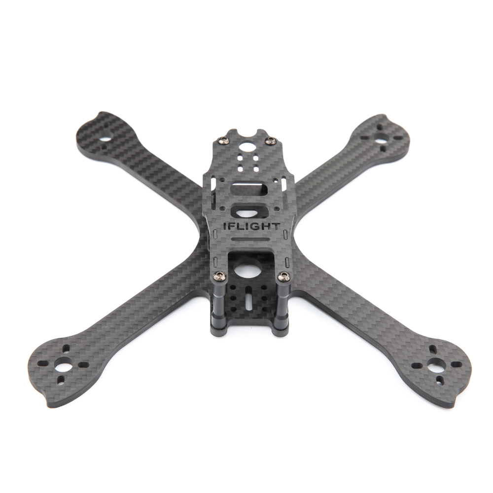 Genuine iFlight iX5 V2 210mm Carbon Fiber FPV Frame Kit with FPV Camera Side Plate M3x28mm Standoff RC Quadcopter Accessories 1sheet matte surface 3k 100% carbon fiber plate sheet 2mm thickness