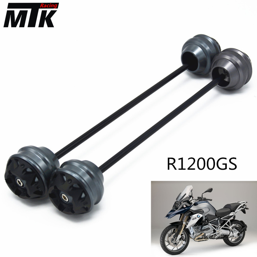 MTKRACING Free shipping for BMW R1200GS 2004-2012 CNC Modified+Motorcycle Front wheel drop ball / shock absorber shock absorber ad2580 absorber buffer bumper free shipping