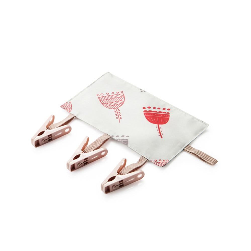 Портативный организации носки сухой тканью подвеска стойка ткань резак Бизнес путешествия Портативный складной ткань вешалка клипы 23May 27