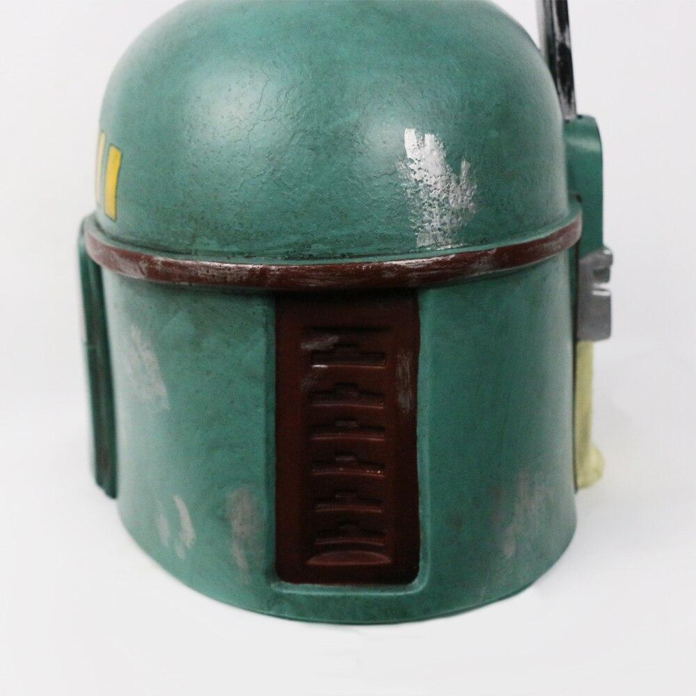 Helmet Star Wars Boba Fett Bounty Hunter Hat Boba Fett Helmet Halloween Helmet Mask (10)
