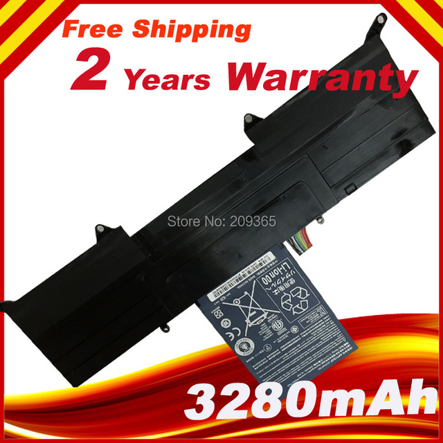 New Original  Battery AP11D4F AP11D3F for ACER Aspire S3 S3-951 S3-951-2464G24iss S3-951-6464 S3-951-6646 MS2346 Laptop Battery