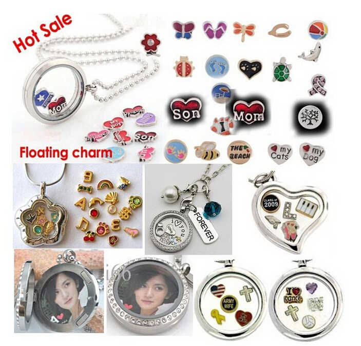 mom and baby love Heart FC849 floating locket memory charms 10pcs for floating living memory locket s wholesales as gift