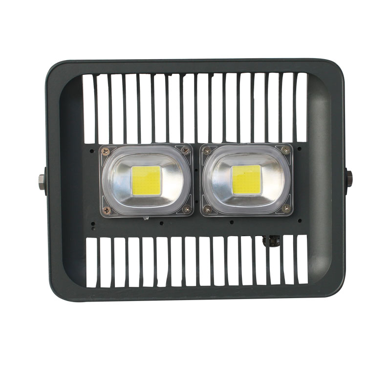 100W White/Warm White 85-265V LED Outdoor Floodlight Waterproof for Court Yard white