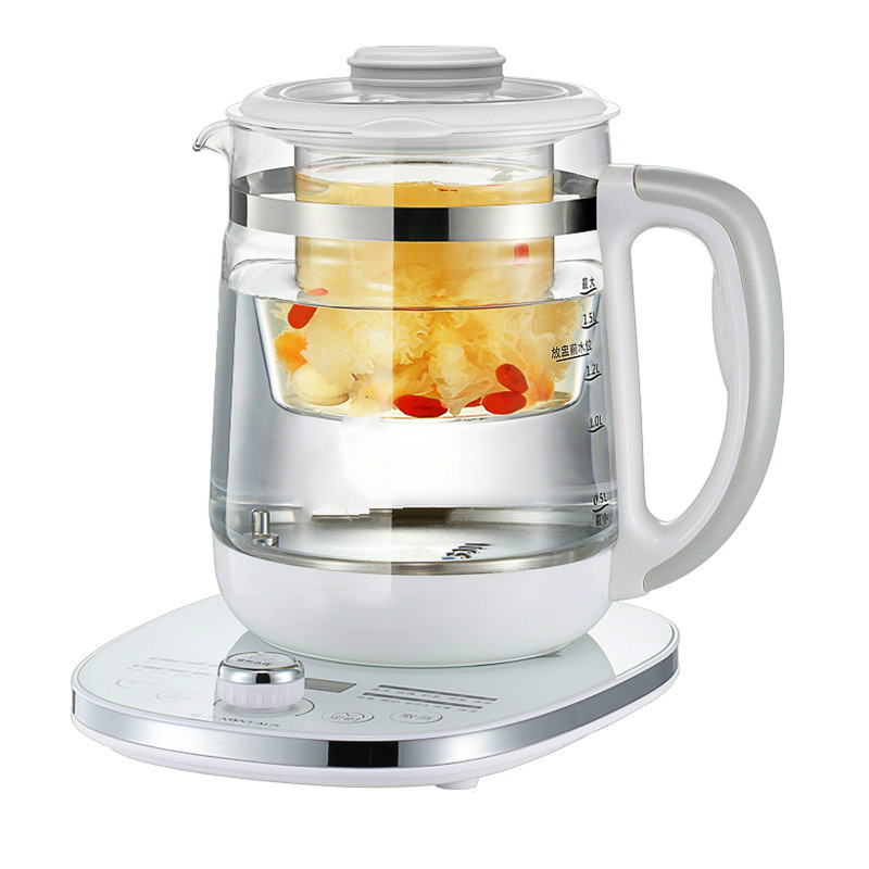 Electric kettle A full-automatic and full-thickness glass raised health for the purpose of making tea pot electric kettle health cup mini health pot full of glass electric hot office brew