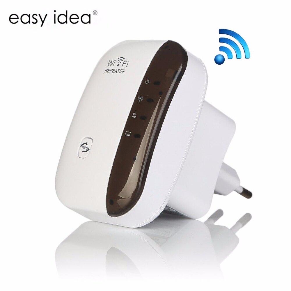 Беспроводной Wi-Fi ретранслятор 300 Мбит/с усилитель сигнала 802.11N/B/G шифрования WPS сети антенна wifi Extender