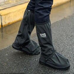 Многоразовые водонепроницаемые чехлы для обуви для Мотоцикл Велосипед Мотоцикл сапог дождевик для обуви в крик дождливой непромокаемой