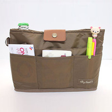 Multifunctional Zipper Portable Casual Travel Bag Makeup Organizer Storage Bag Pockets Handbag Cosmetic Make Up Wash Bag