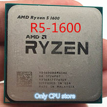 AMD Ryzen 5 1600 R5 1600 3.2 GHz Six-Core CPU Processoe YD1600BBM6IAE Socket AM4 Free Shipping(China)