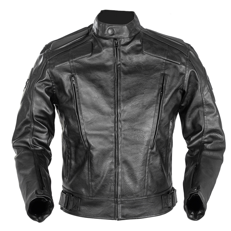 ДУХАН искусственная кожа мужчины Мотокросс Джерси Блузон в Байкерском зимняя одежда протектор мотоцикл куртки Chaqueta Мото