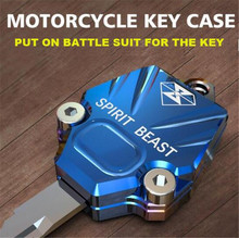 SPIRIT BEAST Motorcycle Key Accessories Decoration Cover Creative Products NK150 Dedicated Car Styling Diy Motorbike