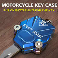 SPIRIT BEAST Motorcycle Key Accessories Decoration Key Cover Creative Products NK150 Dedicated Car Styling Diy Motorbike