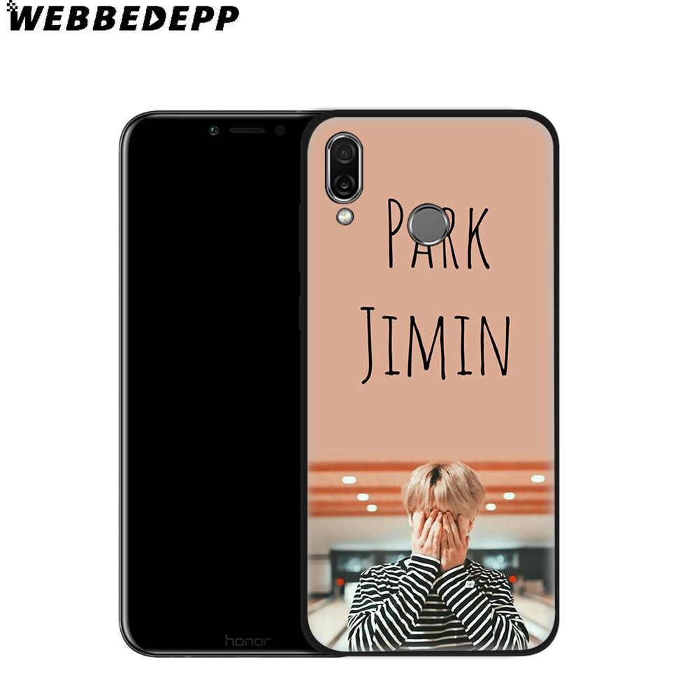 WEBBEDEPP Park Jimin K Pop Soft Case for Huawei P8 P9 P10 P20 P30 Lite Pro P Smart Z Plus 2019 Y6 Prime 2018 2017 Lite Mini