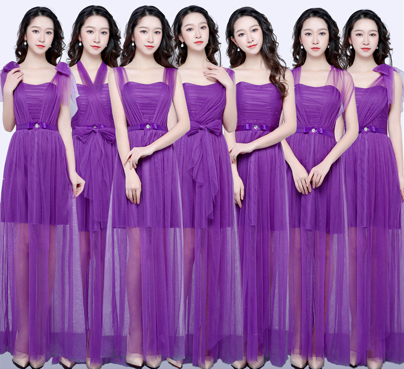 Detail Feedback Questions about Sweet Memory Purple bridesmaid dresses long  for wedding guests sister party formal dress plus size dress prom dresses  SW0050 ... 866abfaed055