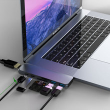 Two-Colored USB Type-C Hub with TF SD Reader for Laptop