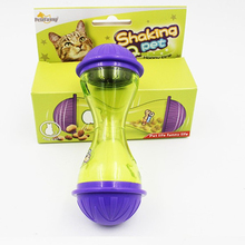 Leakage Toy Ball Pets Dog Toys Dogs Fun Tasty Pets Rolling Drain Training Food Toy Tableware Hot Feeders Dog
