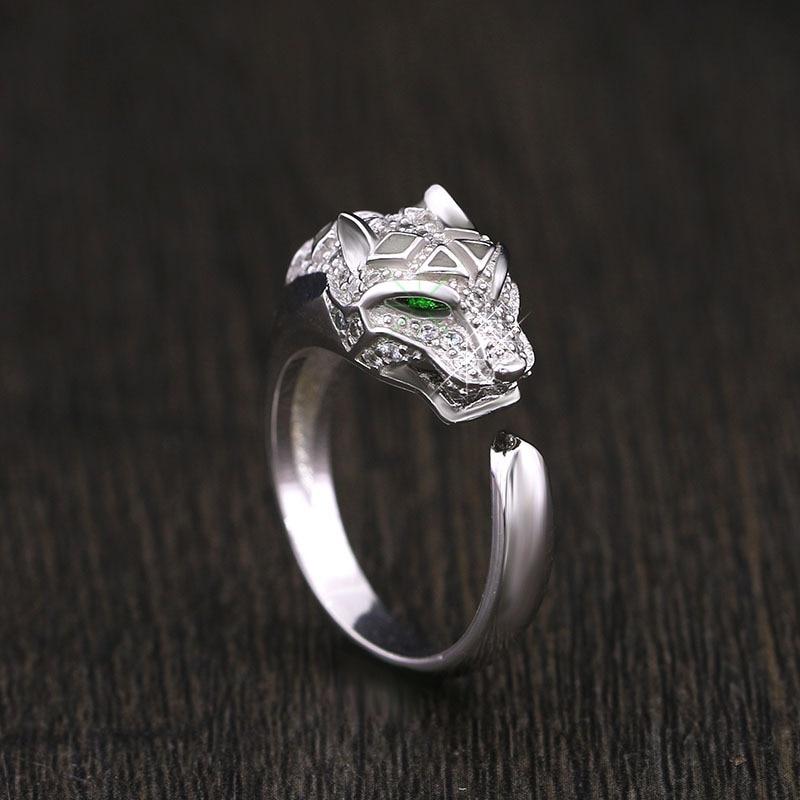 ed63173a069fa Galeria de silver panther ring por Atacado - Compre Lotes de silver panther  ring a Preços Baixos em Aliexpress.com