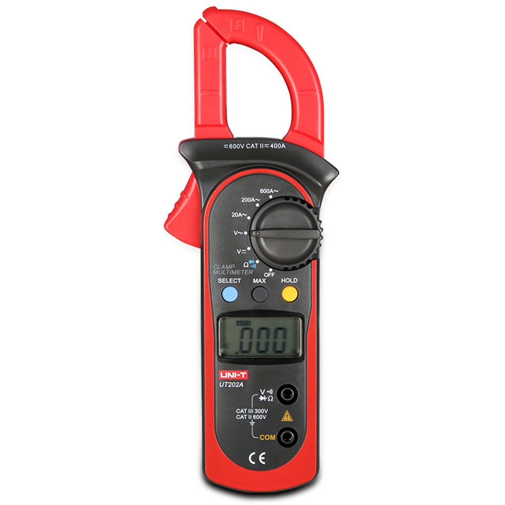 UNI-T UT202A Digital Clamp Pattern Multimeter LCD Screen Measuring Instrument токовые клещи uni t ut202a