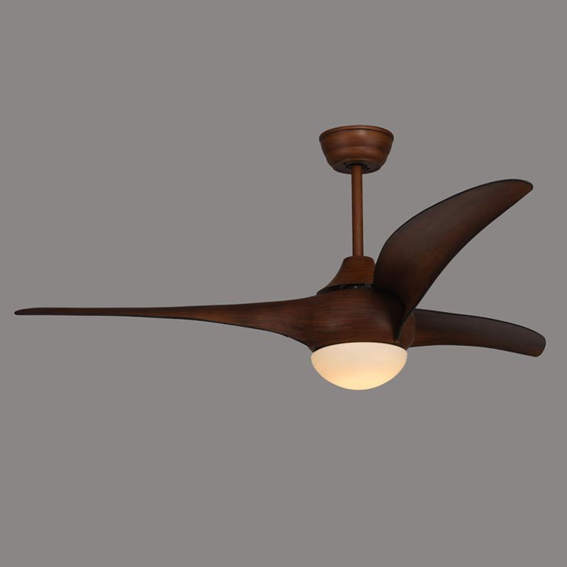 american ceiling fan restaurant dining table fan light wood leaf continental retro with led bedroom living