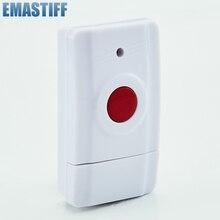 EMastiff Беспроводная Аварийная кнопка для нашей системы сигнализации 433 МГц один ключ оповещения