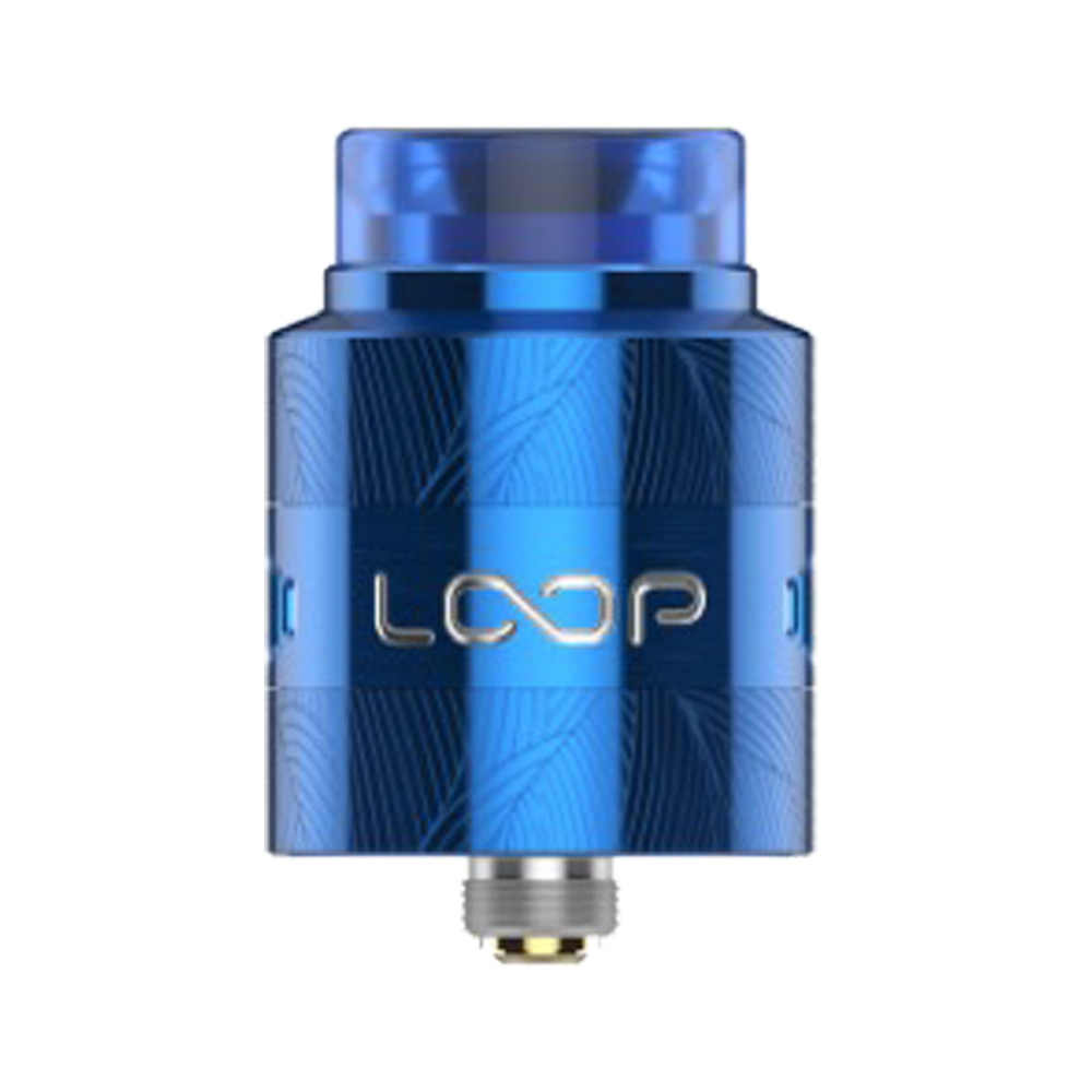 Free Gift Coil! 2018 Original GeekVape Loop V1.5 RDA Atomizer 24mm Arrayed Airflow Design Provides Precise Control VS Loop RDA