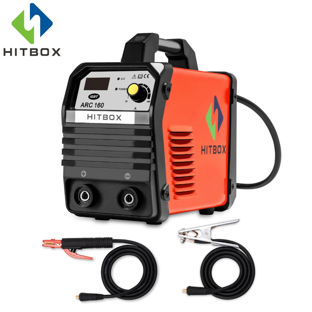 HITBOX Arc Welder ARC160 Digital IGBT Technology New Arrival MMA Welding Machine 160A Home Factory Use MMA Stick Function