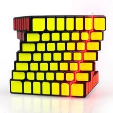 Qiyi X Man 디자인 스파크 및 스파크 M 7x7x7 마그네틱 큐브 전문 Mofangge 7x7 매직 스피드 큐브 트위스트 교육 완구