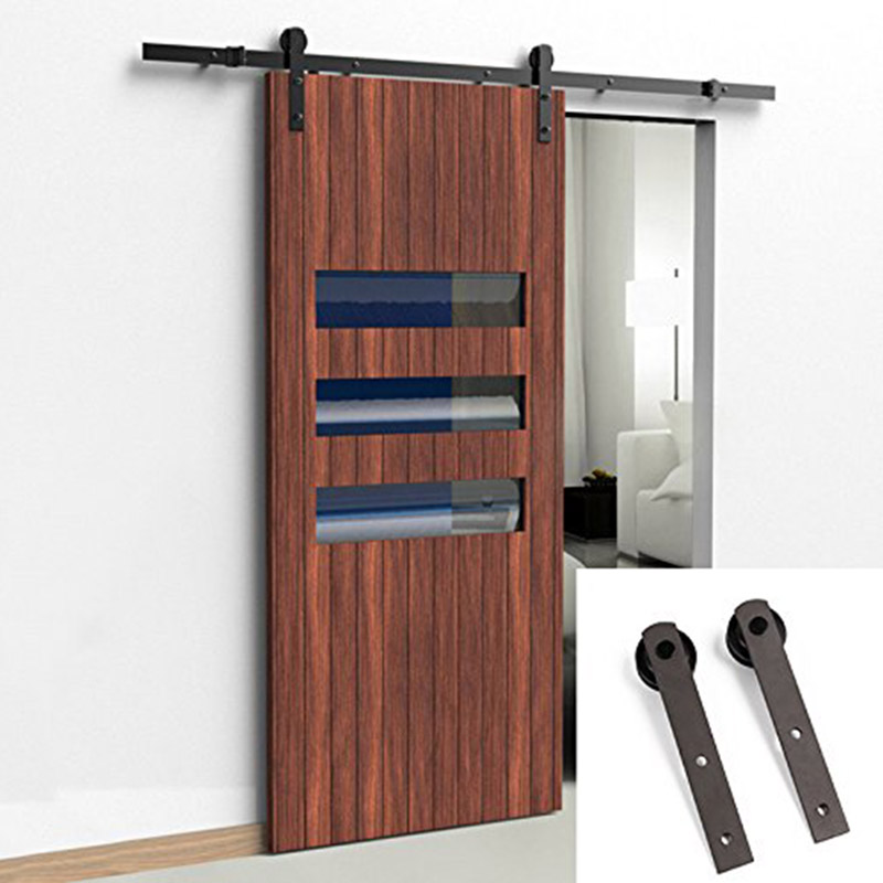 Online get cheap sliding barn door hardware aliexpress for Cheap sliding barn doors