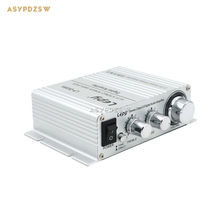 Silver LP-2020A HIFI Class D Digital power amplifier On-delay With overcurrent protection 20W+20W DC 12V