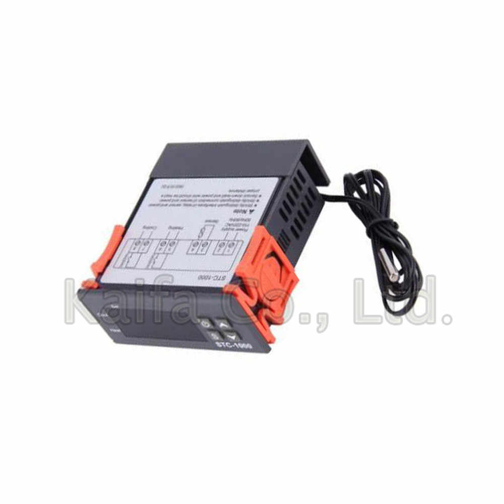Detail Feedback Questions About Stc 1000 10a Dc 12v 24v Ac 110v 220v The Stc1000 Is A Digital Temperature Controller With Sensor That Two Relay Output