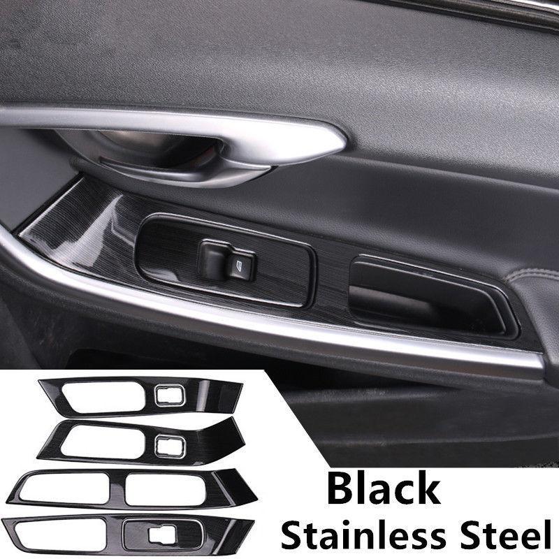 Car Door Armrest Panel Decorative Cover Trim 7pcs For Volvo XC60 S60 V60 2012-17 other 15 18 20 22 7pcs