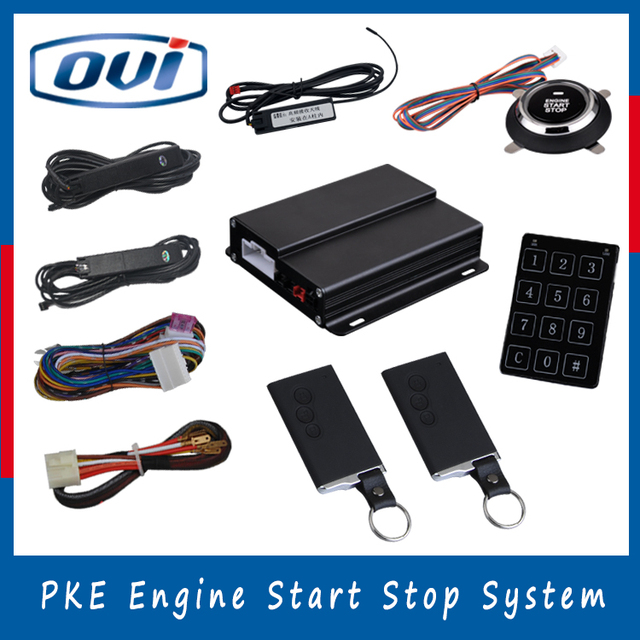 Manufacture Price Remote engien start / stop Passive Entry PKE Push ...