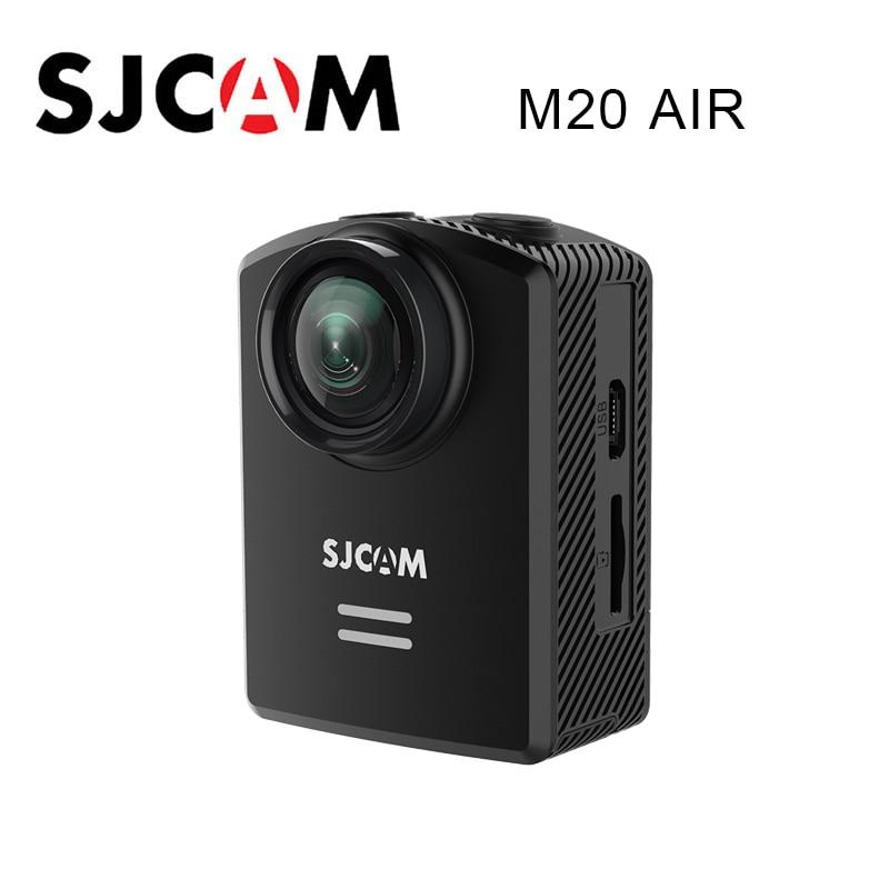 Original SJCAM M20 Air Action caméra WIFI étanche 1080 P NTK96658 12MP casque vidéo caméra sport DV