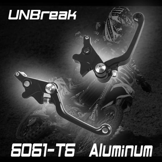 Frete Grátis UNBreak Alumínio Alavancas de Freio de Embreagem Para RM125 RM250 1996-2002