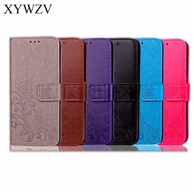 Para Cobrir Sony Xperia Estojo De Couro Do Caso Da Aleta Para Sony Xperia L1 L1 Carteira Soft Case Silicone Capa Para Xperia l1 G3312 G3311 Saco