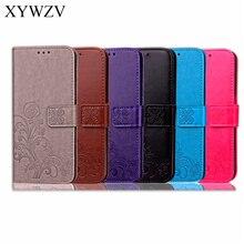 Para la cubierta de Sony Xperia L1 Funda de cuero con tapa para Sony Xperia L1 funda de cartera suave de silicona para Xperia L1 G3312 G3311 bolsa