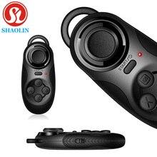 SHAOLIN Беспроводная Связь Bluetooth Регулятор Игры Джойстик Игровой Геймпад Для Android iOS Мобильный Смартфон для iPhone для Samsung