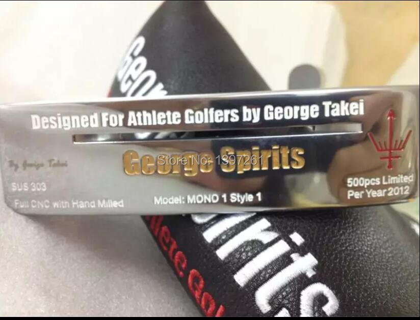 TourOK Golf Authentic George Spirits MONO1 Limited Putter Head And Head Cover