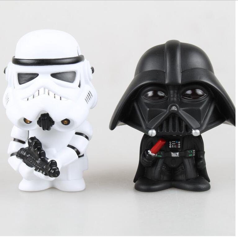 1pcs Star Wars Figure Action The Force Awakens Black Series Darth Vader Stormtrooper Model Toy For Kids Gift