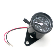 Speedometer Motorcycle Led-Indicator DC 12V Dual with 0-140km/H
